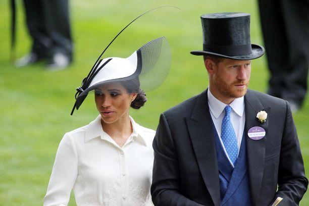 Prinssi Harry ja herttuatar Meghan jättivät Ascotin tänä vuonna väliin.