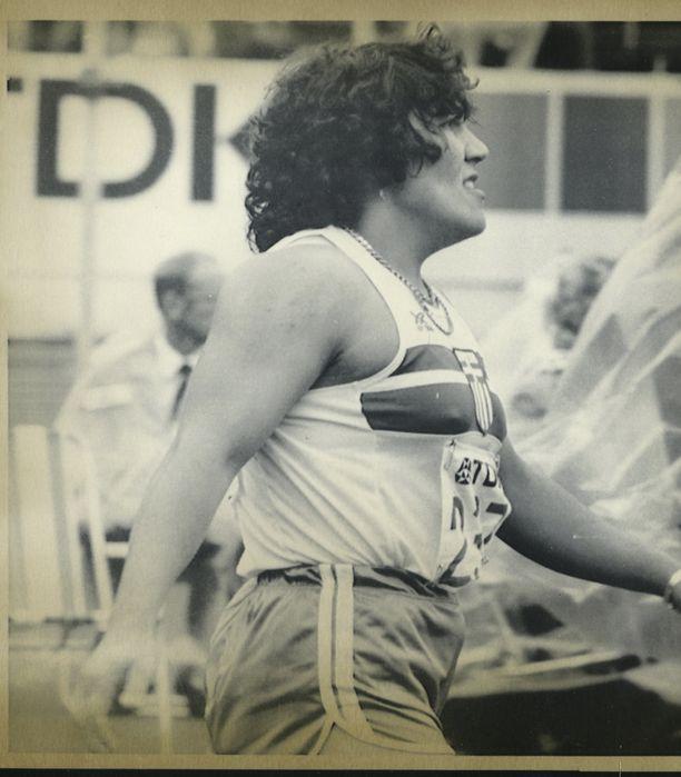 Anna Verouli voitti vuoden 1982 EM-kisat.