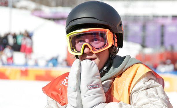 Redmond Gerardin, 17, ilme oli epäuskoinen, kun hänen olympiavoittonsa varmistui.