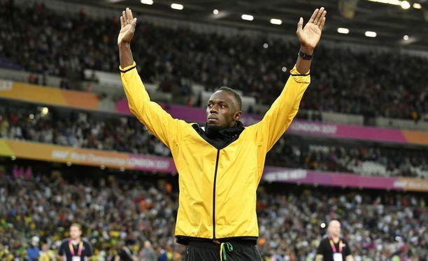 Se oli siinä! 30-vuotias Usain Bolt miettii nyt mitä tehdä tulevaisuudessa. Kilpakentille hän ei aio palata - tai niin hän nyt ainakin sanoo.