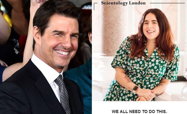 Tom Cruisen tytär hehkuttaa uskomaan skientologien uutiskirjeessä.