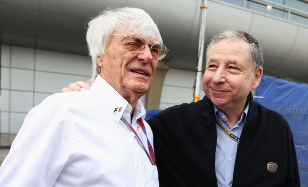 Bernie Ecclestone ja Jean Todt tuntevat F1-maailman.