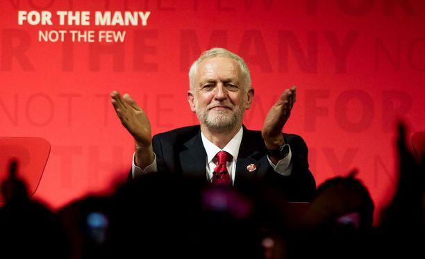 Britannian työväenpuolueen johtaja Jeremy Corbyn vakuuttaa, että Britannia saa aikaiseksi erosopimuksen.