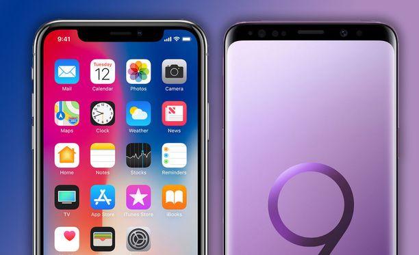 Samsungin puhelimissa saattaa pian olla Iphone X:n tapaan lovi.