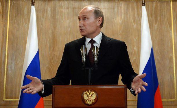 KHL:n on Venäjän presidentin Vladimir Putinin keksintö.
