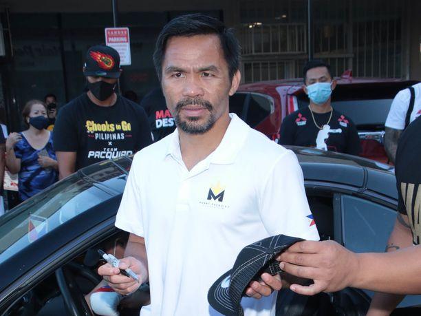 Manny Pacquiao palaa kehään parin vuoden tauon jälkeen.