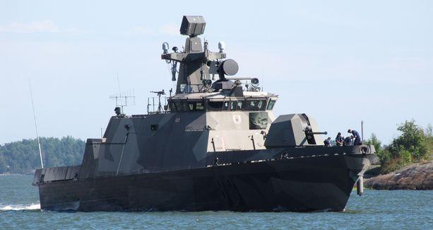 Hamina-luokan ohjusveneet ovat tuttu näky Suomen merialueilla.