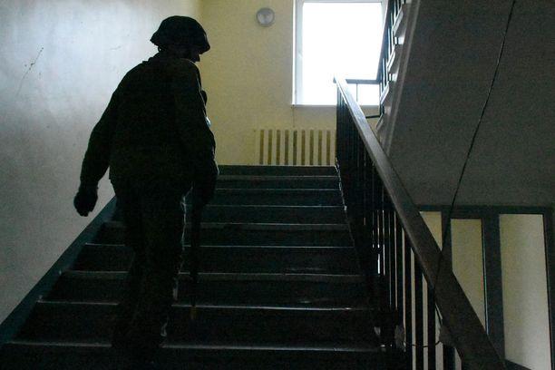 SIIL- ja HUNT -harjoitukset käytiin monenlaisissa ympäristöissä kuten Koplin alueella Tallinnassa.