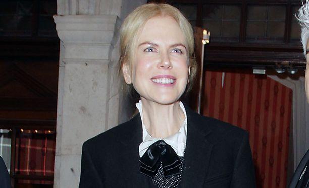 Nicole Kidman iloitsee tyttärensä naimisiinmenosta.