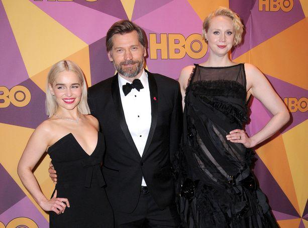 Myös Emilia Clarke ja Nikolaj Coster-Waldau jäävät Christielle kakkoseksi.