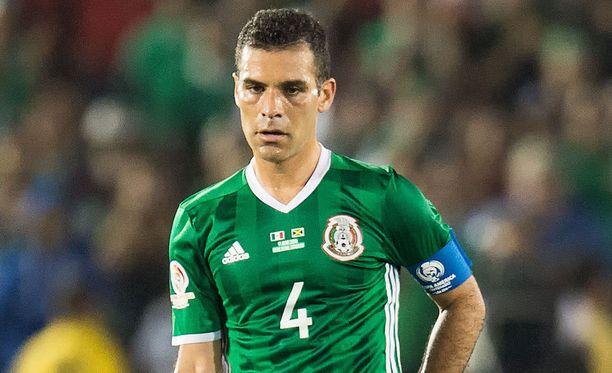 Rafael Márquez on totuttu näkemään Meksikon maajoukkueen kapteenina.