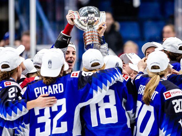 USA pääsi juhlimaan historiansa yhdeksättä maailmanmestaruutta.