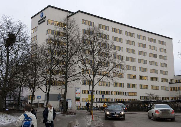 Uppsalassa on havaittu ainakin kahdeksan uutta virusmuunnostapausta. Arkistokuva Uppsalan yliopistollisesta sairaalasta.
