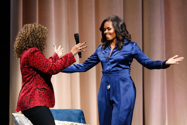 Michelle Obamasta on tullut koko kansan suosikki.