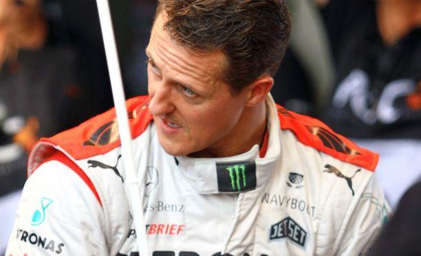 Michael Schumacher loukkaantui lasketteluonnettomuudessa joulukuussa 2013.