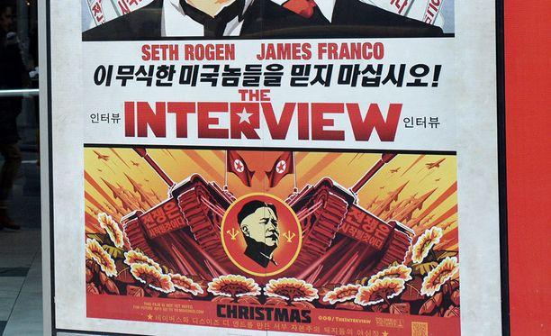 The Interview on toistaiseksi hyllytetty teatterilevityksestä uhkailuiden vuoksi.