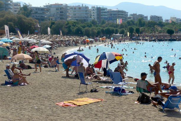 Käynnit julkisissa ulkokohteissa lisääntyivät heinä-elokuussa koko Kreikassa 128 prosenttia.