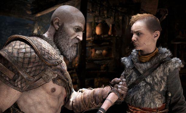 Kratos on vanhentunut viime näkemästä.