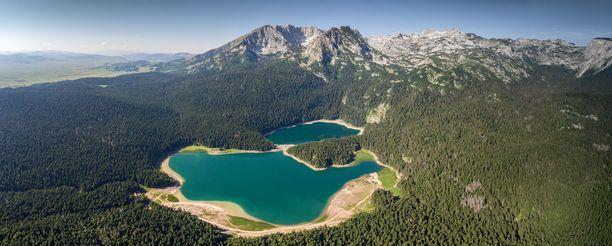 Durmitor on Montenegron kuuluisin kansallispuisto.