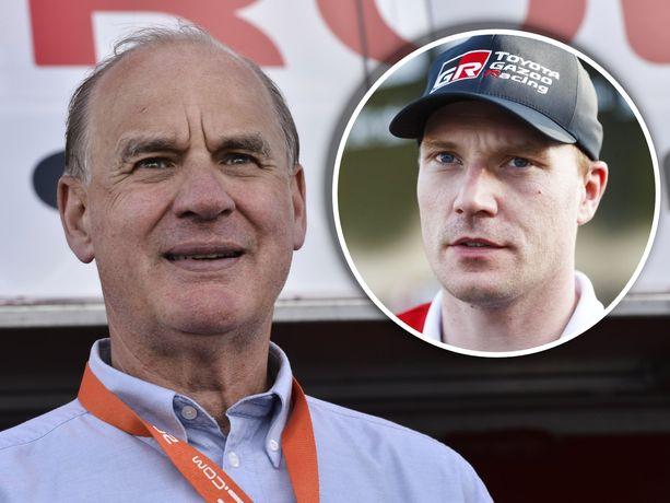 Timo Jouhki toimii Jari-Matti Latvalan managerina.