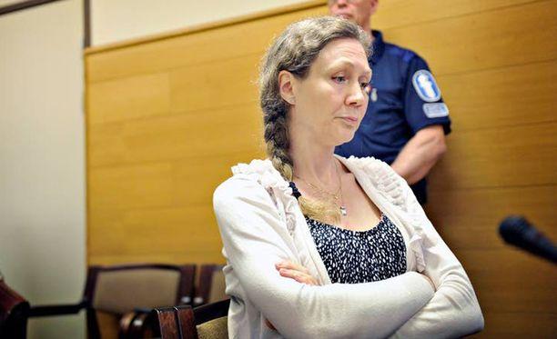 Anneli Auerin poika kieltäytyi maanantaina todistamasta.