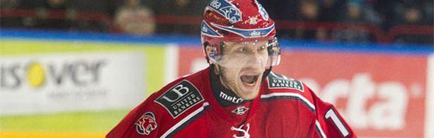 Hannes Hyvönen on ollut pois HIFK:n kokoonpanosta viikon verran.
