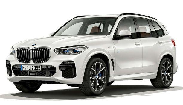 Uudesta BMW X5:stä on esitelty heti tuoreeltaan myös uusi ladattava hybridi.