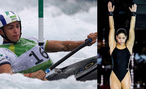Meloja Pedro Goncalves ja uimahyppääjä Ingrid Oliveira ovat suostuneet puhumaan Rion kohuyöstään vasta tänä keväänä.