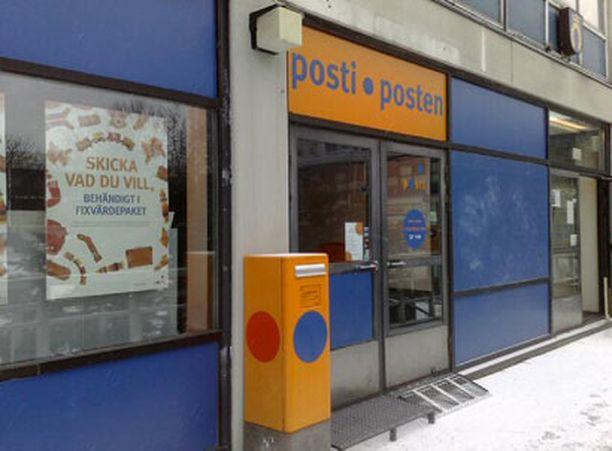 Olarilaiset haluavat pitää oman postitoimipaikan Kuitinmäen ostoskeskuksessa.