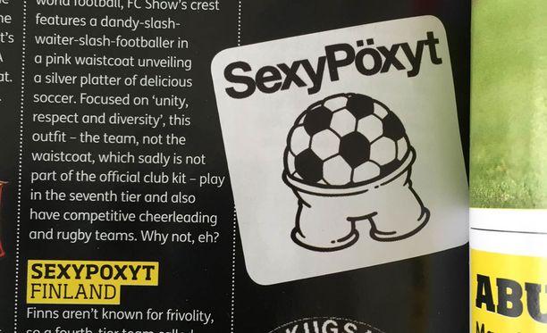 Tältä näyttää SexyPöxyjen logo.