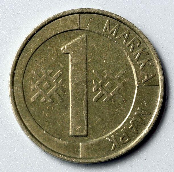 Markka alkoi väistyä Suomessa euron tieltä vuonna 2002.