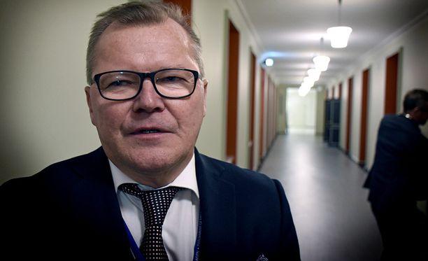 Eduskunnan turvallisuusjohtaja Jukka Savola.