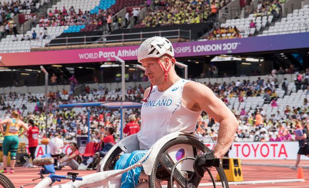 Leo-Pekka Tähti on voittanut Lontoon stadionilla myös paralympiakultaa.