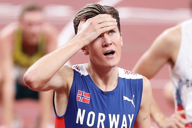 Jakob Ingebrigtsen on olympiavoittaja.