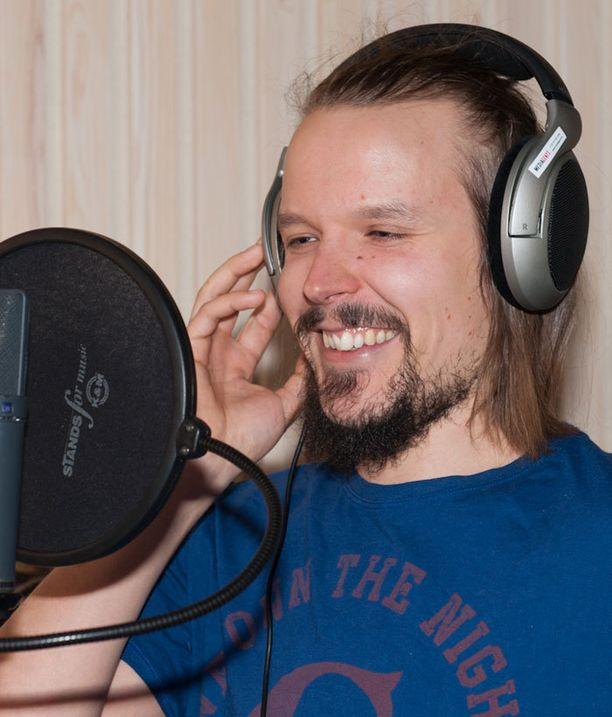 Viimeisiä äänityksiä tehdessä studiolla oli letkeä tunnelma.