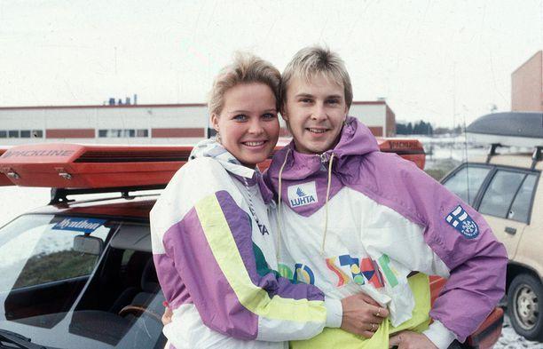 Pia Hynninen oli Matin toinen vaimo.