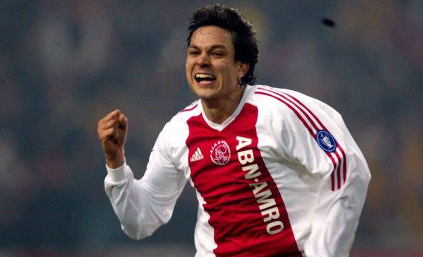 Jari Litmanen oli uransa huipulla Ajaxissa.