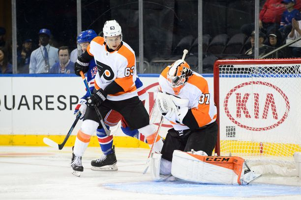 Grittyn ja Philadelphia Flyersin kauden ensimmäinen kotiottelu pelataan 9. lokakuuta.