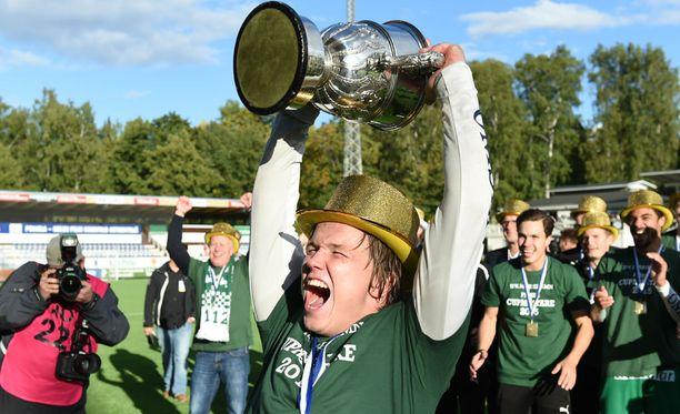 Lauantai oli Petteri Forsellin jalkapallouran paras tähän mennessä.