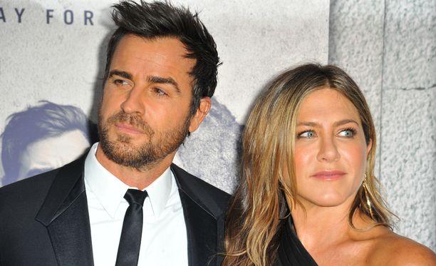 Justin Theroux ja Jennifer Aniston ilmoittivat hiljattain erostaan.