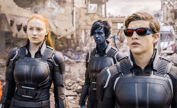 Supervoimia omaavat mutantit yrittävät estää maailmanlopun toimintaelokuvassa X-Men: Apocalypse.