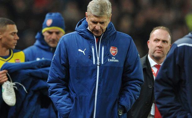Arsene Wenger ei tahdo saada Arsenalia menestymään.