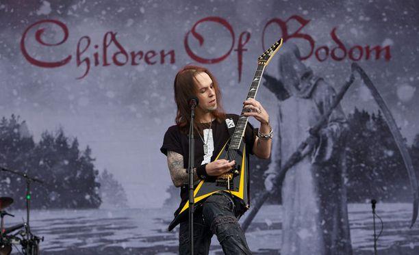Aleksi Laihon johtama Children Of Bodom keräsi Provinssirockissa kiitosta.