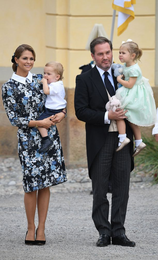 Prinsessa Madeleinella ja Chris O'Neillilla on kaksi lasta: Leonore ja Nicolas.