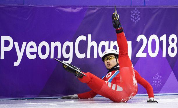Jong Kwang Bom edusti Pohjois-Koreaa olympialaisissa.