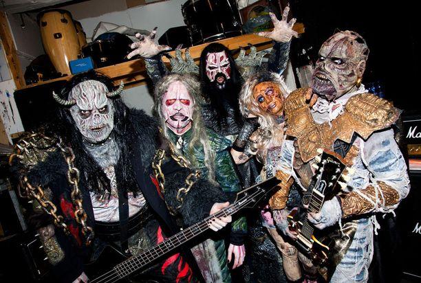 Vuonna 2013 Lordi-yhtye näytti tältä.