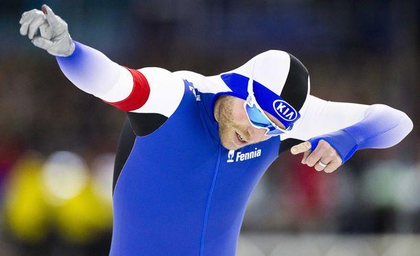Mika Poutala jäi neljänneksi 500 metrillä.