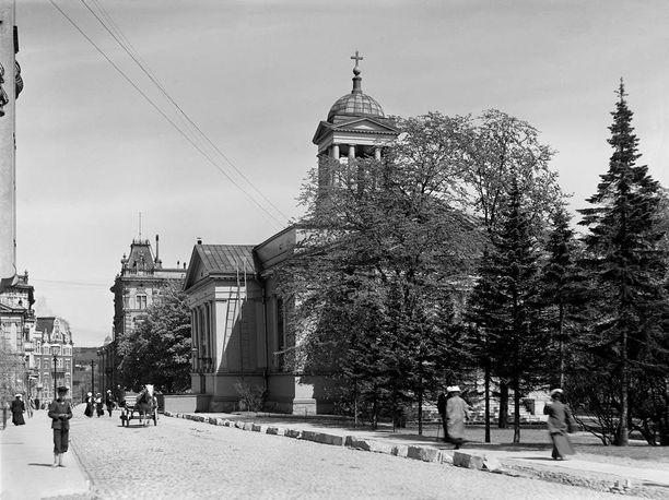 Vanhasta kirkosta tuli sittemmin suosittu vihkikirkko.
