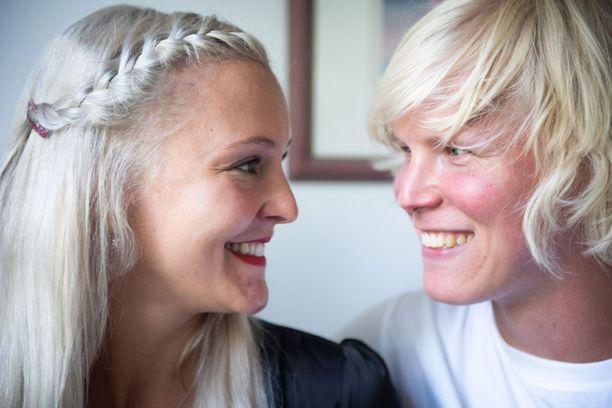 Anu ja Helmeri ovat jälleen yhdessä.