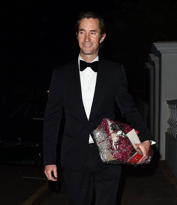 Pippan mies James Matthew on miljonääri.